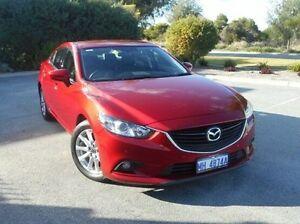 2013 Mazda 6 GJ1031 Touring SKYACTIV-Drive Red 6 Speed Sports Automatic Sedan East Rockingham Rockingham Area Preview