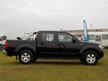 2010 Nissan Navara  Black Manual Utility Pakenham Cardinia Area Preview