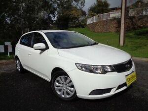 2012 Kia Cerato TD MY13 SI White 6 Speed Sports Automatic Hatchback St Marys Mitcham Area Preview