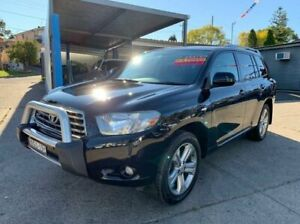 2008 Toyota Kluger GSU45R KX-S AWD Black 5 Speed Sports Automatic Wagon Lansvale Liverpool Area Preview