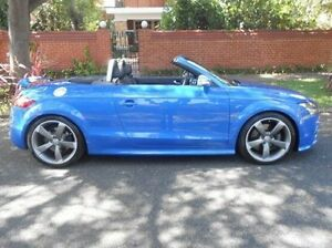 2009 Audi TT 8J MY09 S S tronic quattro Blue 6 Speed Sports Automatic Dual Clutch Roadster Prospect Prospect Area Preview