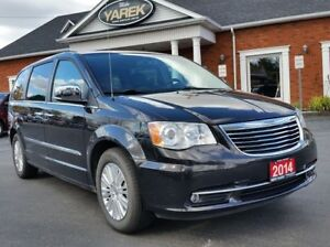 2014 Chrysler Town & Country Limited, Sunroof, Leather Heated Se
