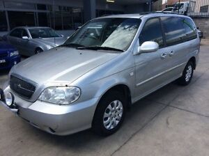 2004 Kia Carnival MY04 LS Silver 5 Speed Manual Wagon Fyshwick South Canberra Preview