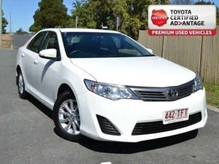 2013 Toyota Camry ASV50R Altise White 6 Speed Auto Seq Sportshift Sedan Kedron Brisbane North East Preview