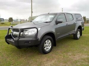 2013 Holden Colorado Grey Sports Automatic Utility Pakenham Cardinia Area Preview