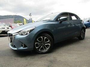 2015 Mazda 2 DJ2HAA Genki SKYACTIV-Drive Blue 6 Speed Sports Automatic Hatchback Earlville Cairns City Preview