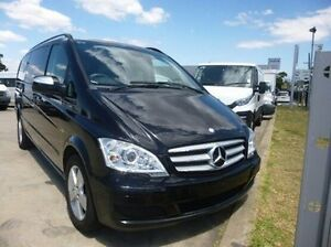 2012 Mercedes-Benz Viano 639 MY12 BlueEFFICIENCY Black 5 Speed Automatic Wagon Coburg North Moreland Area Preview
