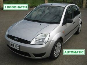 2005 Ford Fiesta WP LX Silver 4 Speed Automatic Hatchback Enfield Port Adelaide Area Preview