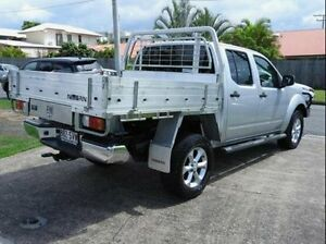 2012 Nissan Navara D40 S5 MY12 ST-X 550 Silver 7 Speed Sports Automatic Utility Wynnum Brisbane South East Preview