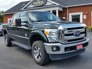 2016 Ford Super Duty F-350 Lariat 4x4 Diesel, Leather Heated/Ven
