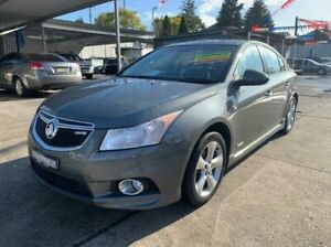 2011 Holden Cruze JH Series II MY11 SRi-V Grey 6 Speed Sports Automatic Sedan Lansvale Liverpool Area Preview