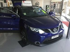 2016 Nissan Qashqai J11 TI Blue 1 Speed Constant Variable Wagon East Kempsey Kempsey Area Preview