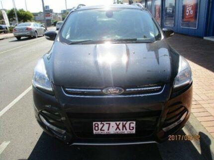 2013 Ford Kuga TF Trend PwrShift AWD Black 6 Speed Sports Automatic Dual Clutch Wagon Maryborough Fraser Coast Preview