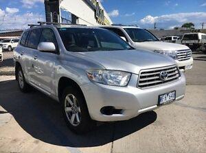 2008 Toyota Kluger GSU40R KX-R 2WD Silver 5 Speed Sports Automatic Wagon Seaford Frankston Area Preview