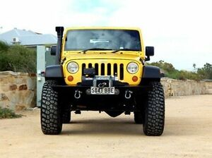 2007 Jeep Wrangler JK Rubicon Yellow 4 Speed Automatic Softtop Christies Beach Morphett Vale Area Preview
