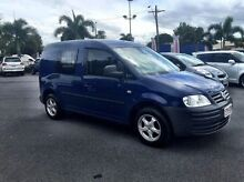 2009 Volkswagen Caddy 2KN SWB Blue 5 Speed Manual Van West Mackay Mackay City Preview