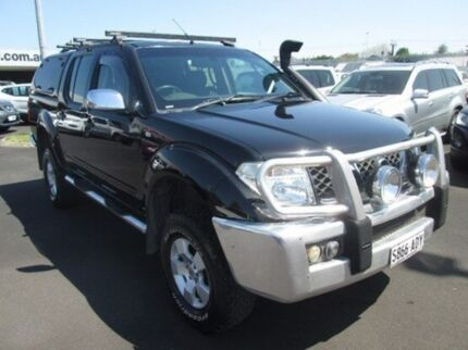 2007 Nissan Navara D40 ST-X Grey 6 Speed Manual Utility Mount Gambier Grant Area Preview