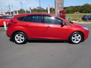 2014 Ford Focus LW MKII Trend PwrShift Red 6 Speed Sports Automatic Dual Clutch Hatchback Traralgon Latrobe Valley Preview