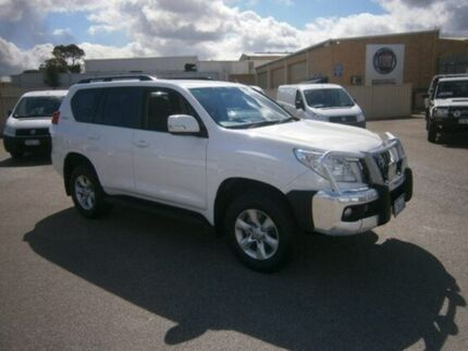 2013 Toyota Landcruiser Prado KDJ150R GXL Glacier White 5 Speed Auto Seq Sportshift Wagon Pearsall Wanneroo Area Preview