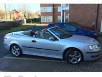 Saab 9-3 Convertable great runner comes with loads of paper work 10 months Mot