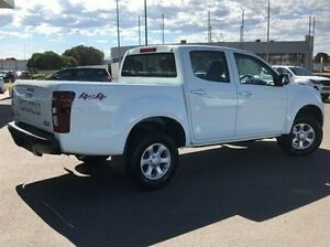 2017 Isuzu D-MAX MY17 LS-M Crew Cab White 6 Speed Manual Utility Morwell Latrobe Valley Preview