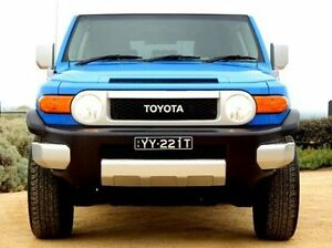 2011 Toyota FJ Cruiser GSJ15R Blue 5 Speed Automatic Wagon Christies Beach Morphett Vale Area Preview