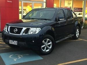 2014 Nissan Navara D40 S7 ST Blue 6 Speed Manual Utility Meadow Heights Hume Area Preview