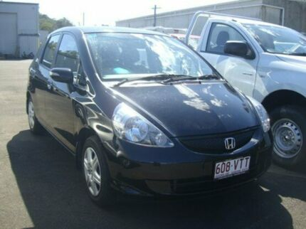 2007 Honda Jazz GD MY06 GLI Nighthawk Black 1 Speed Constant Variable Hatchback Nambour Maroochydore Area Preview