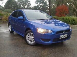 2010 Mitsubishi Lancer Blue Manual Hatchback Hahndorf Mount Barker Area Preview
