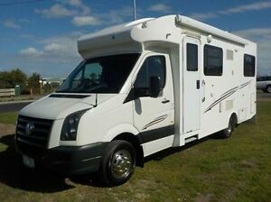 2011 Volkswagen Crafter White Automatic Cab Chassis Pakenham Cardinia Area Preview