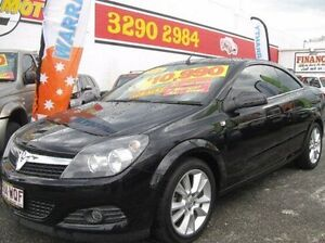 2008 Holden Astra AH MY08.5 Twin TOP Black 6 Speed Manual Convertible Underwood Logan Area Preview