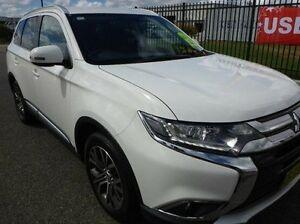2015 Mitsubishi Outlander ZK MY16 XLS 4WD White 6 Speed Constant Variable Wagon Singleton Singleton Area Preview