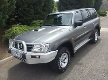 2002 Nissan Patrol GU III MY2002 ST Silver 5 Speed Manual Wagon Vermont Whitehorse Area Preview