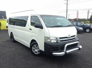 2009 Toyota Hiace White Automatic Bus Moorabbin Kingston Area Preview