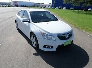 2012 Holden Cruze JH Series II MY12 SRi White 6 Speed Sports Automatic Sedan Hyde Park Townsville City Preview