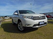 2012 Toyota Kluger GSU40R MY12 Grande 2WD White 5 Speed Sports Automatic Wagon East Rockingham Rockingham Area Preview