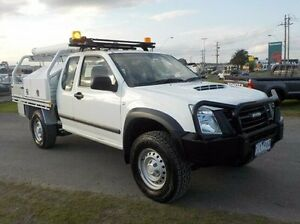 2010 Isuzu D-MAX White Manual Cab Chassis Pakenham Cardinia Area Preview