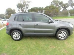 2011 Volkswagen Tiguan 5N MY11 125TSI DSG 4MOTION Grey 7 Speed Sports Automatic Dual Clutch Wagon Silver Sands Mandurah Area Preview