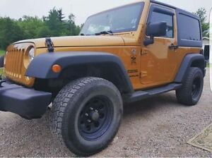 2014 Jeep Wrangler Sport Coupe (2 door)