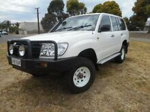 2006 Toyota Landcruiser  White Manual Wagon Mile End South West Torrens Area Preview