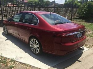 2015 Ford Falcon FG X G6E Turbo Red 6 Speed Sports Automatic Sedan Wolli Creek Rockdale Area Preview