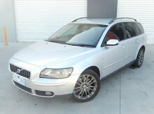 2005 Volvo V50 MY04 T5 Silver 5 Speed Automatic Wagon Meadow Heights Hume Area Preview
