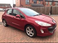 Peugeot 308 Sport HDI 1.6 Diesel 2009 (09 Plate) Part Service History £1,990 ONO