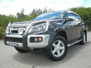 2013 Isuzu D-MAX MY12 LS-U Crew Cab Black 5 Speed Sports Automatic Utility Windsor Hawkesbury Area Preview