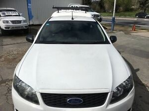 2011 Ford Falcon FG Ute Super Cab White 6 Speed Automatic Utility Wodonga Wodonga Area Preview