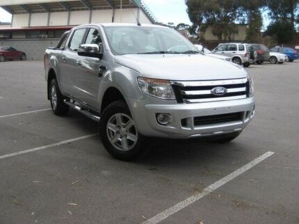 2014 Ford Ranger PX XLT Double Cab Silver 6 Speed Sports Automatic Utility Elizabeth Playford Area Preview
