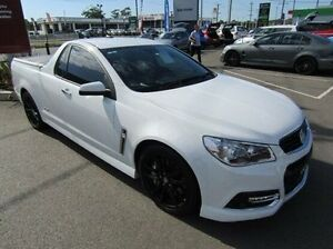2013 Holden Ute VF MY14 SS V Ute Redline White 6 Speed Sports Automatic Utility Cardiff Lake Macquarie Area Preview