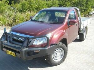 2012 Isuzu D-MAX MY11 SX Red 5 Speed Manual Cab Chassis Windsor Hawkesbury Area Preview