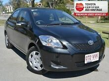 2014 Toyota Yaris NCP93R YRS Black 5 Speed Manual Sedan Taringa Brisbane South West Preview