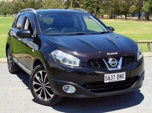 2013 Nissan Dualis J10W Series 4 MY13 Ti-L Hatch X-tronic 2WD Black 6 Speed Constant Variable Elizabeth Playford Area Preview